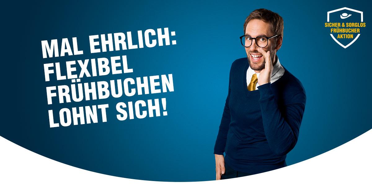 Sicher & sorglos Frühbucheraktion!